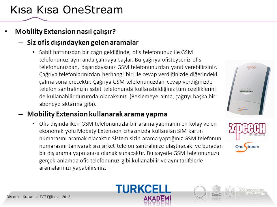 Kısa Kısa OneStream Mobility Extension nasıl çalışır