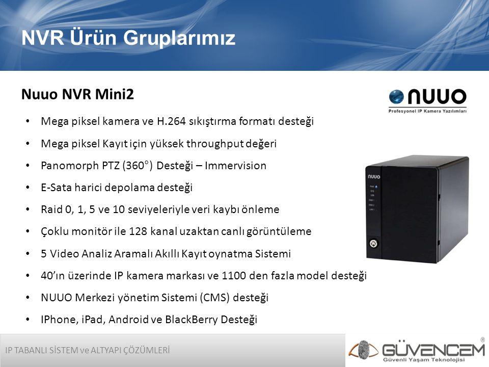 NVR Ürün Gruplarımız Nuuo NVR Mini2