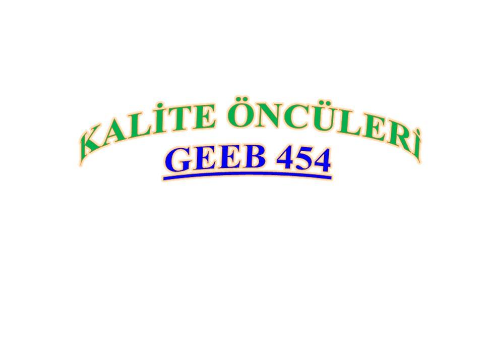 KALİTE ÖNCÜLERİ GEEB 454