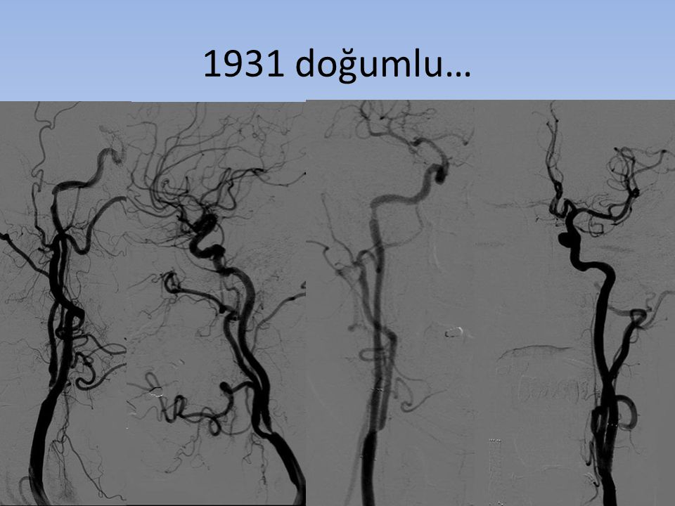1931 doğumlu…