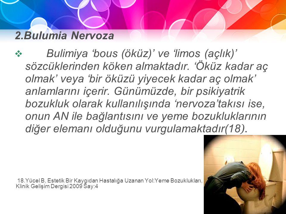 2.Bulumia Nervoza