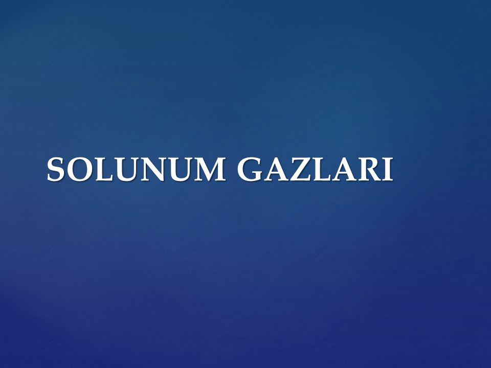 SOLUNUM GAZLARI