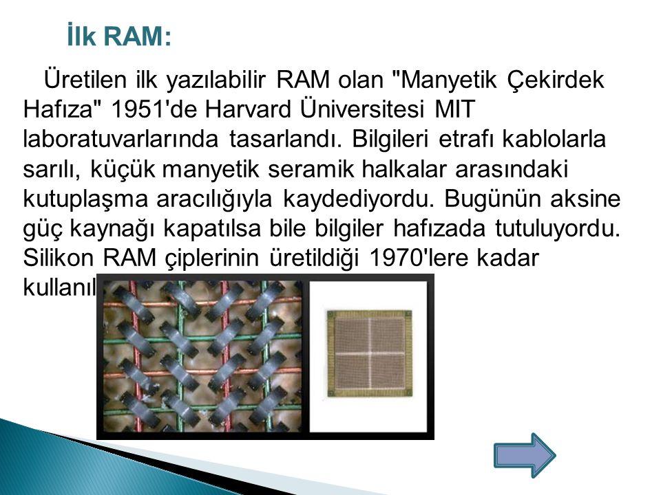 İlk RAM:
