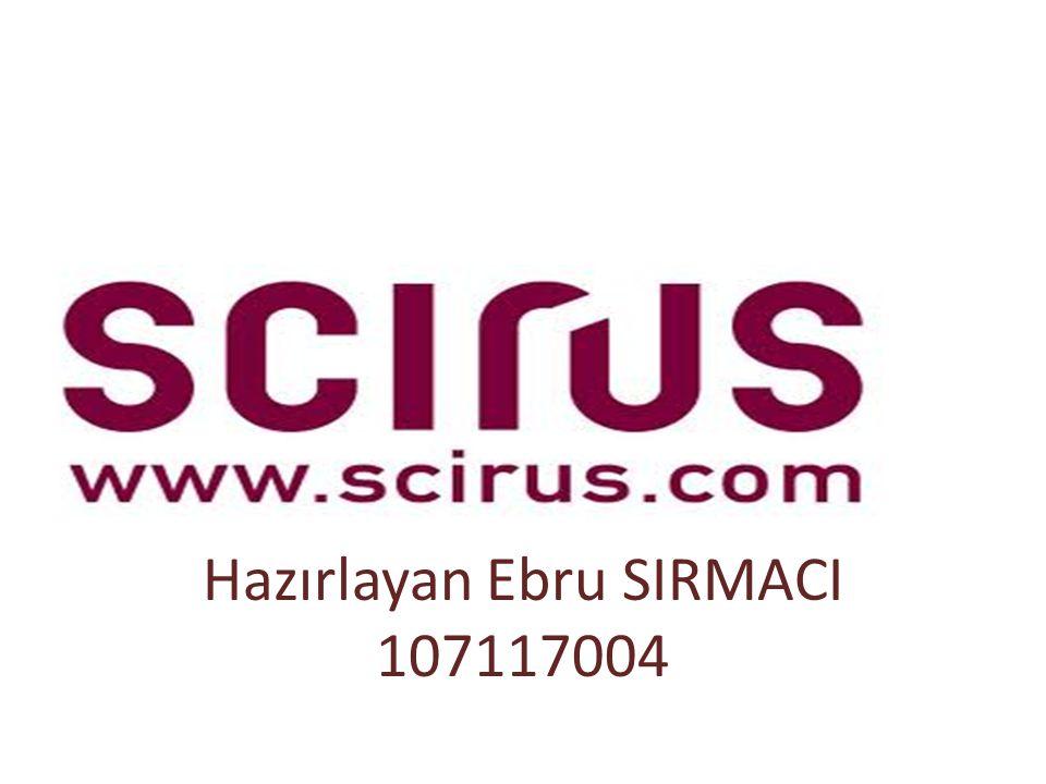 Hazırlayan Ebru SIRMACI 107117004