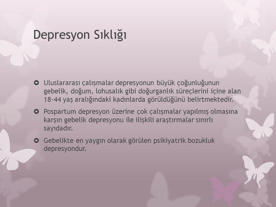 Depresyon Sıklığı