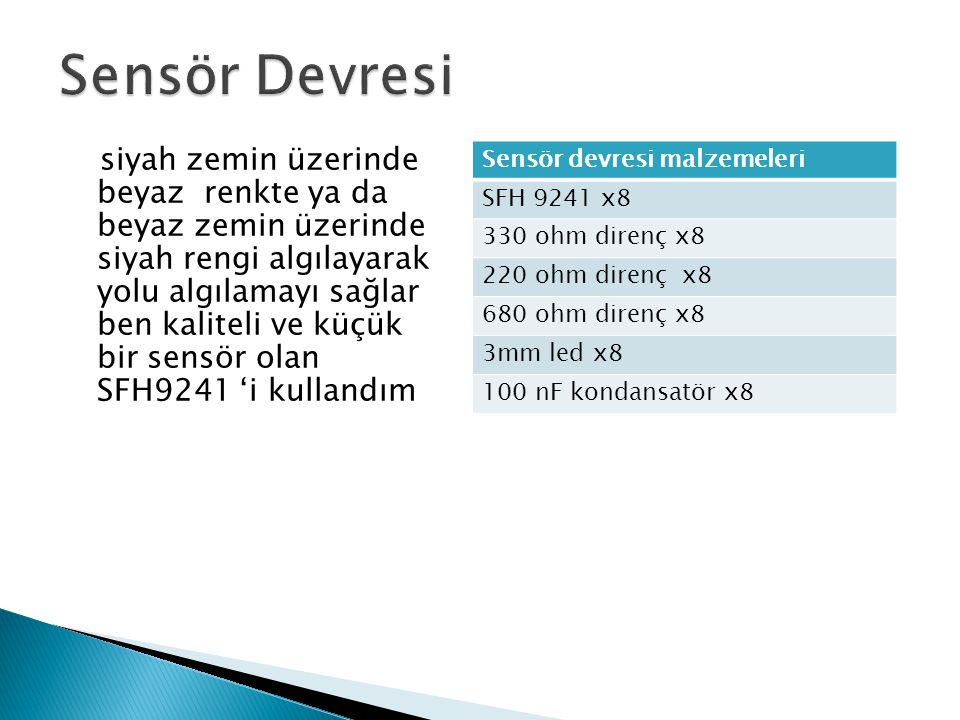 Sensör Devresi