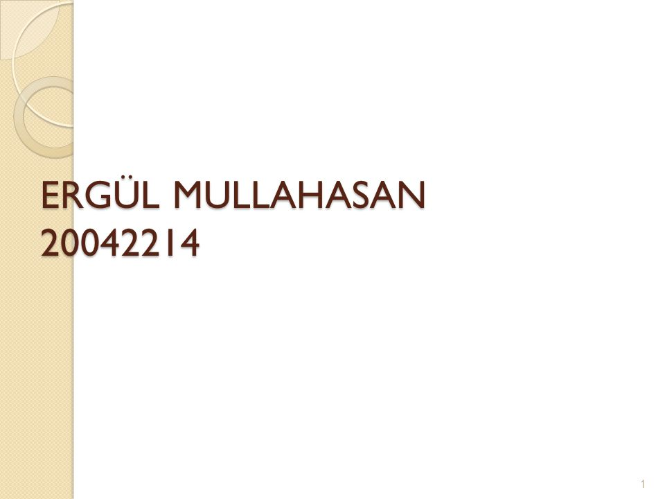 ERGÜL MULLAHASAN 20042214