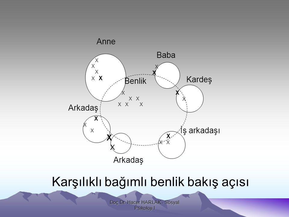 Doç.Dr. Hacer HARLAK - Sosyal Psikoloji I