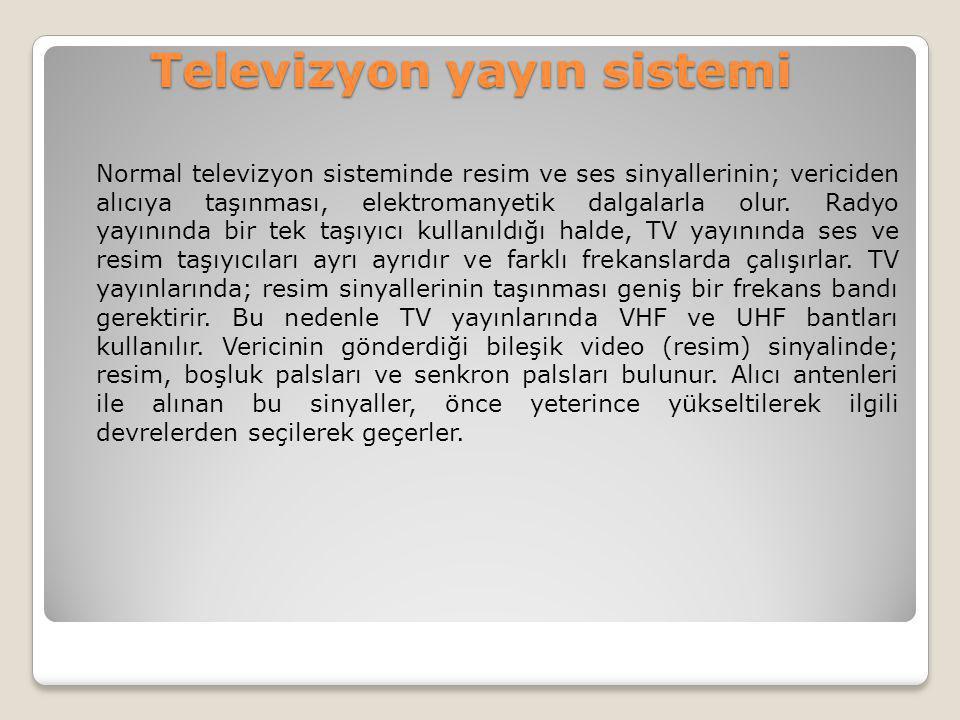 Televizyon yayın sistemi