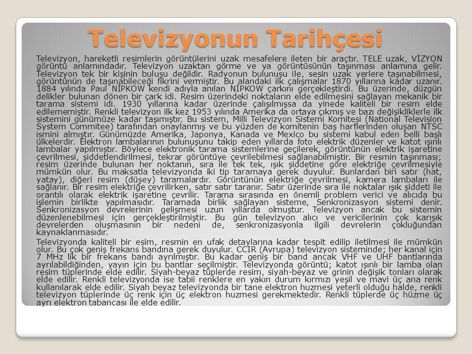 Televizyonun Tarihçesi
