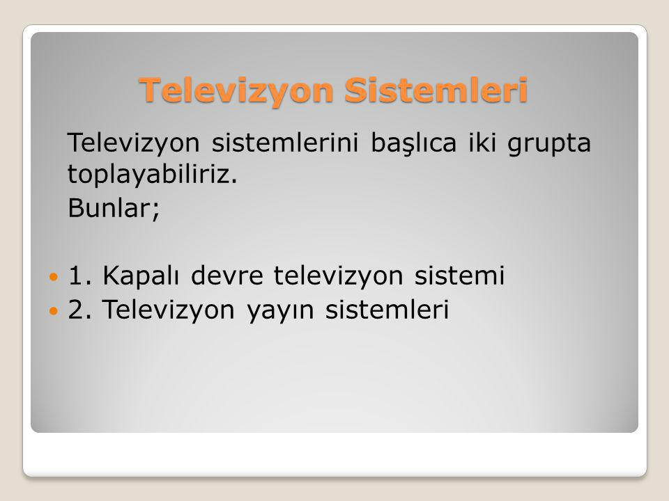 Televizyon Sistemleri