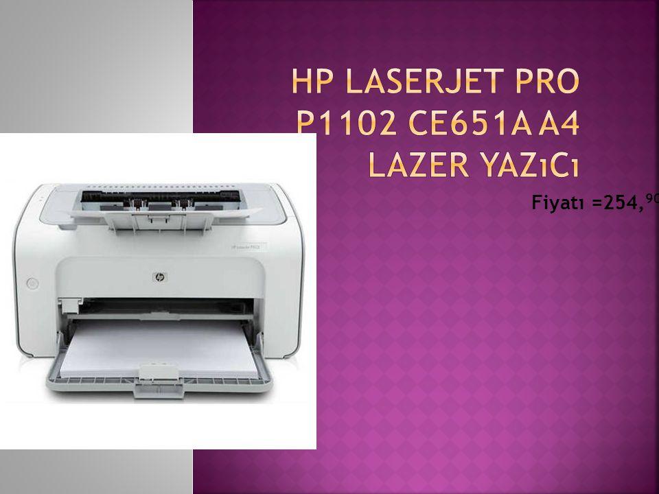 HP LaserJet Pro P1102 CE651A A4 Lazer Yazıcı