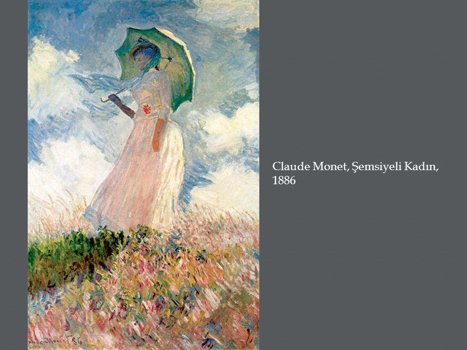 Claude Monet, Şemsiyeli Kadın, 1886