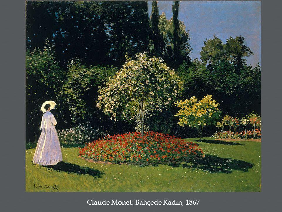 Claude Monet, Bahçede Kadın, 1867