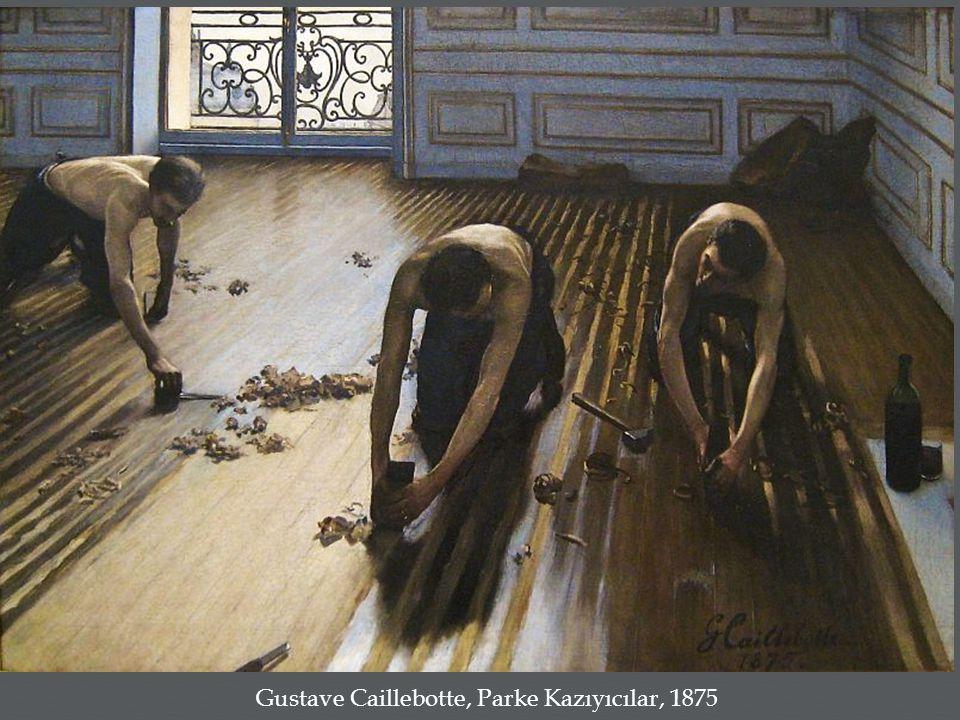 Gustave Caillebotte, Parke Kazıyıcılar, 1875