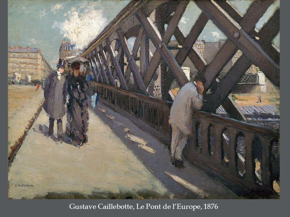 Gustave Caillebotte, Le Pont de l'Europe, 1876