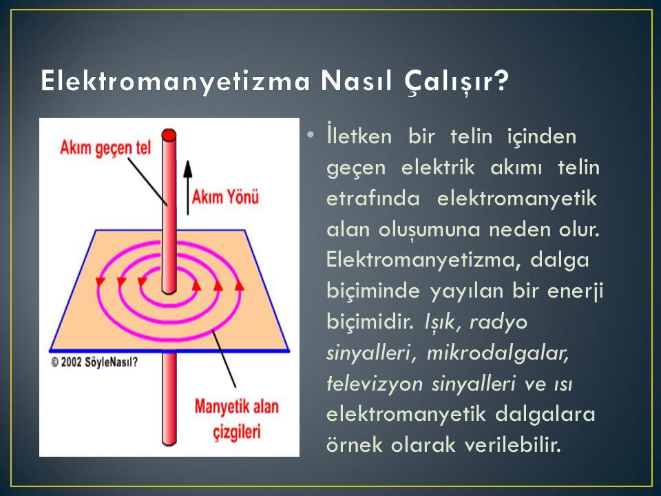 Elektromanyetizma Nasıl Çalışır