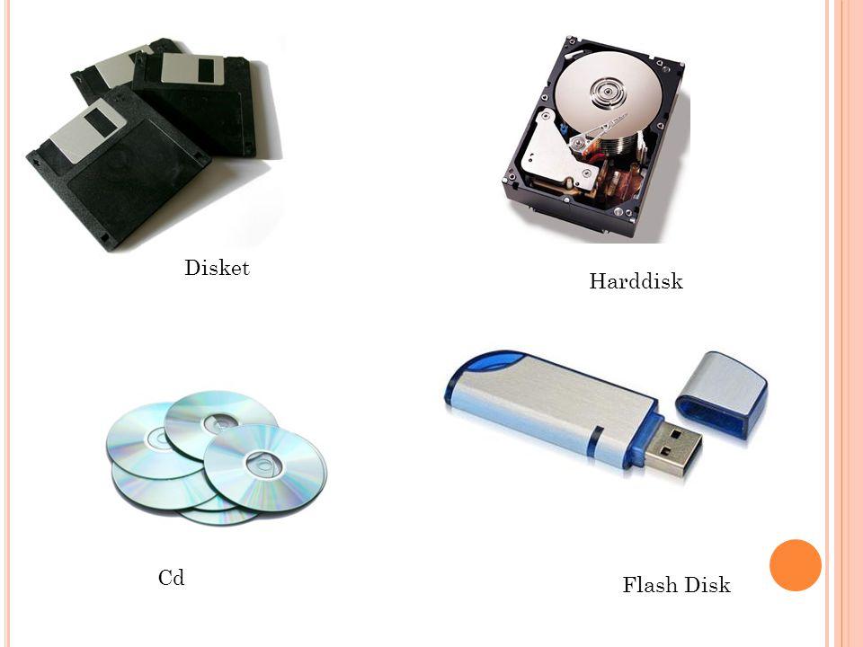 Disket Harddisk Cd Flash Disk