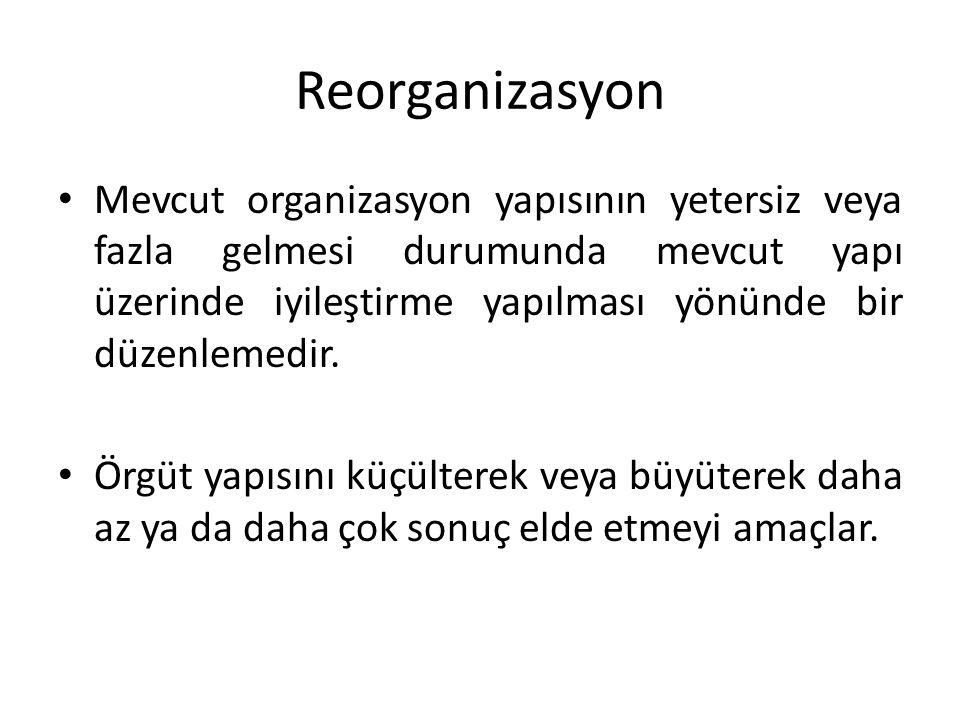 Reorganizasyon