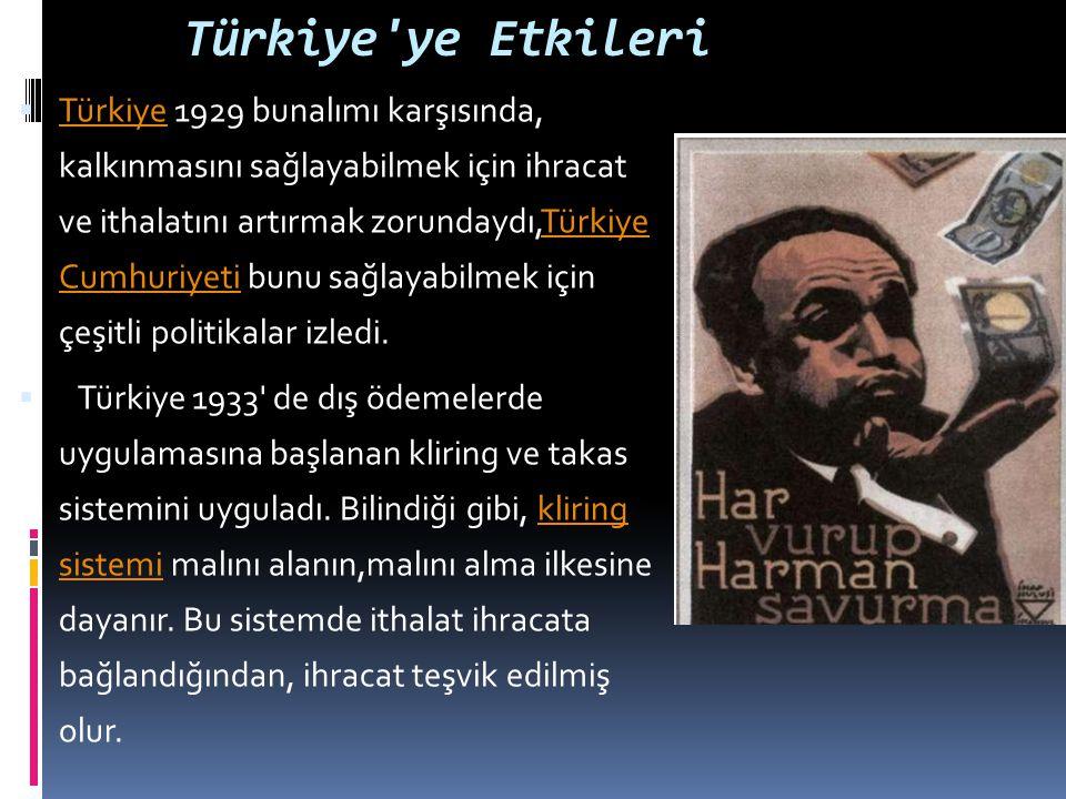 Türkiye ye Etkileri