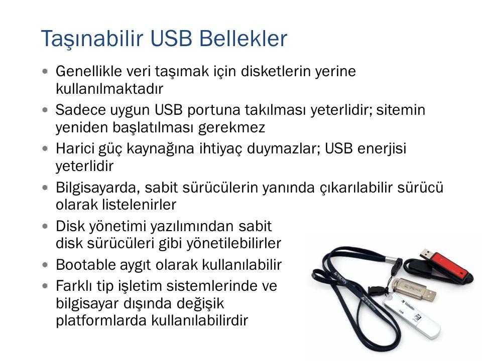 Taşınabilir USB Bellekler