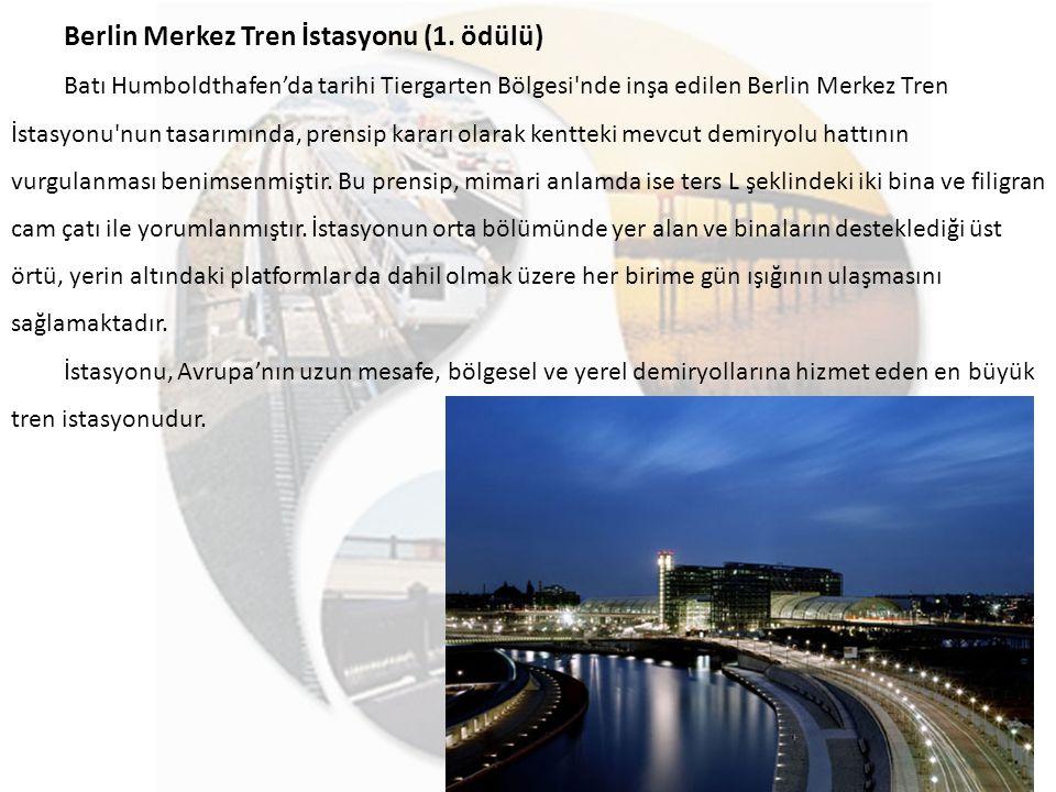 Berlin Merkez Tren İstasyonu (1. ödülü)