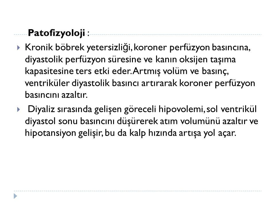 Patofizyoloji :