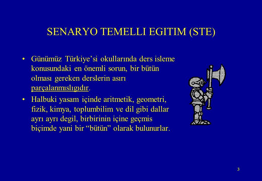 SENARYO TEMELLI EGITIM (STE)