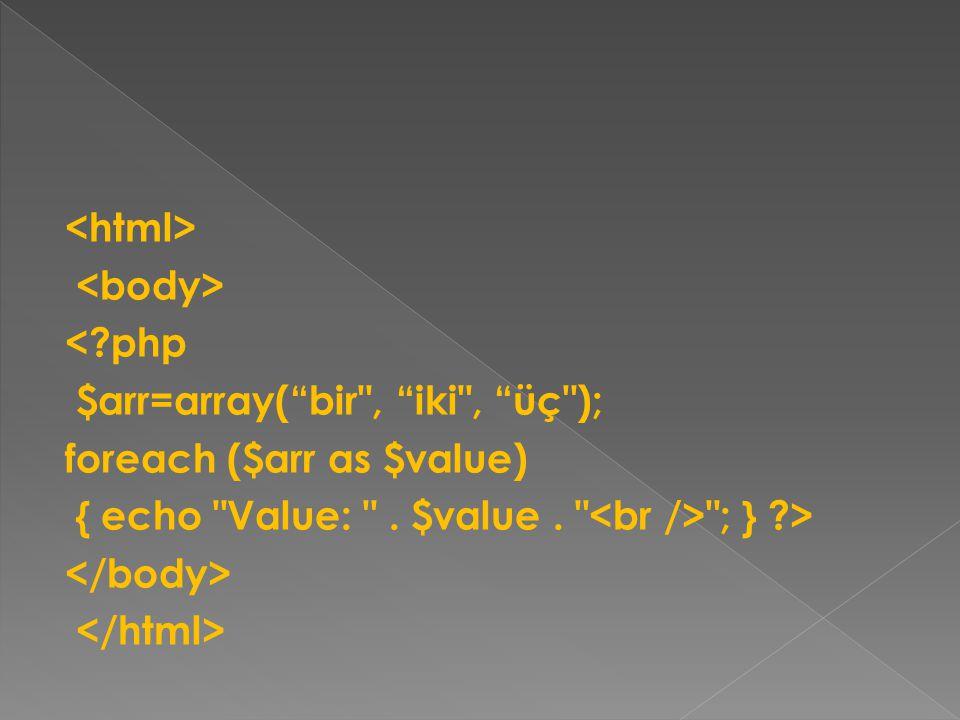 <html> <body> <