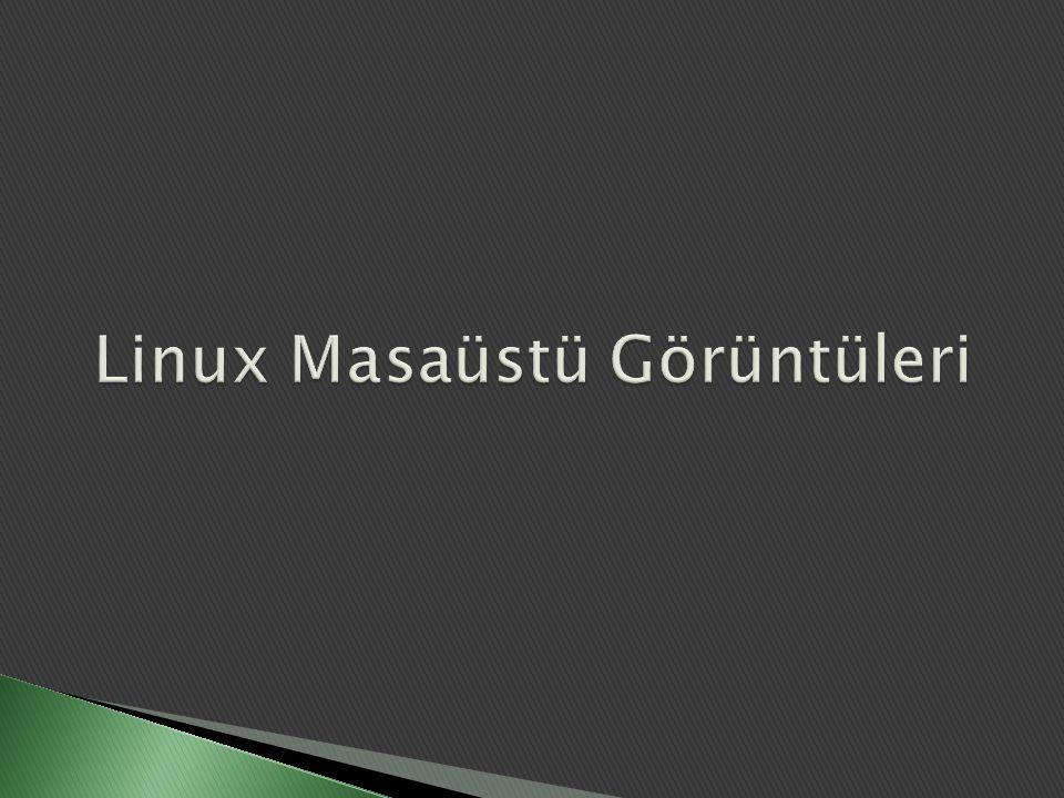 Linux Masaüstü Görüntüleri