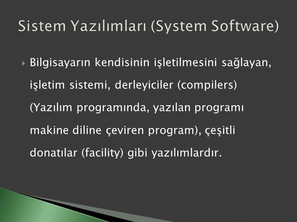 Sistem Yazılımları (System Software)