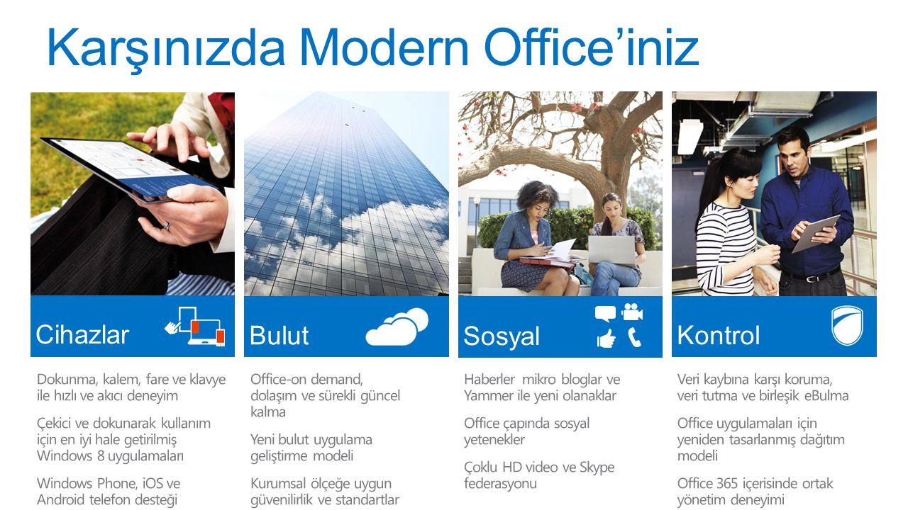 Karşınızda Modern Office'iniz