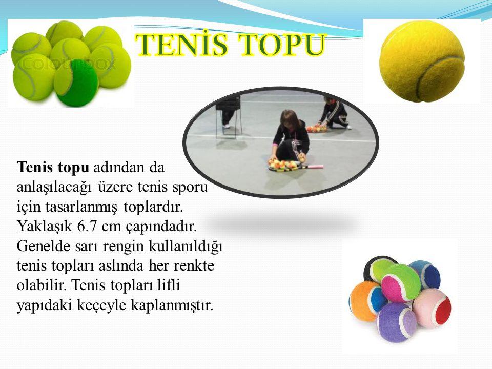 TENİS TOPU