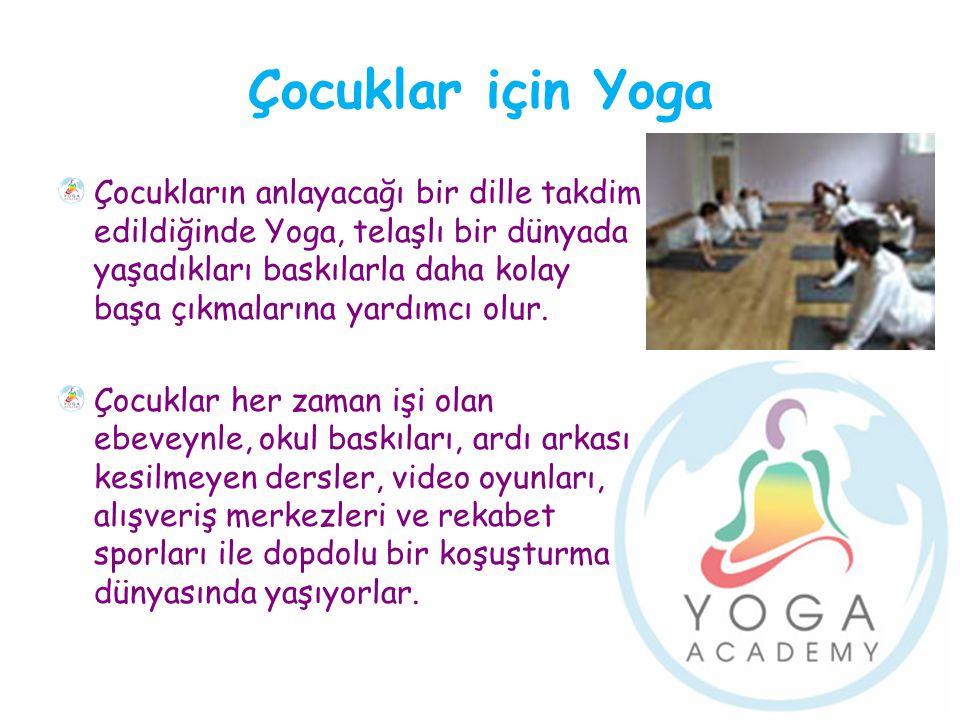 Çocuklar için Yoga