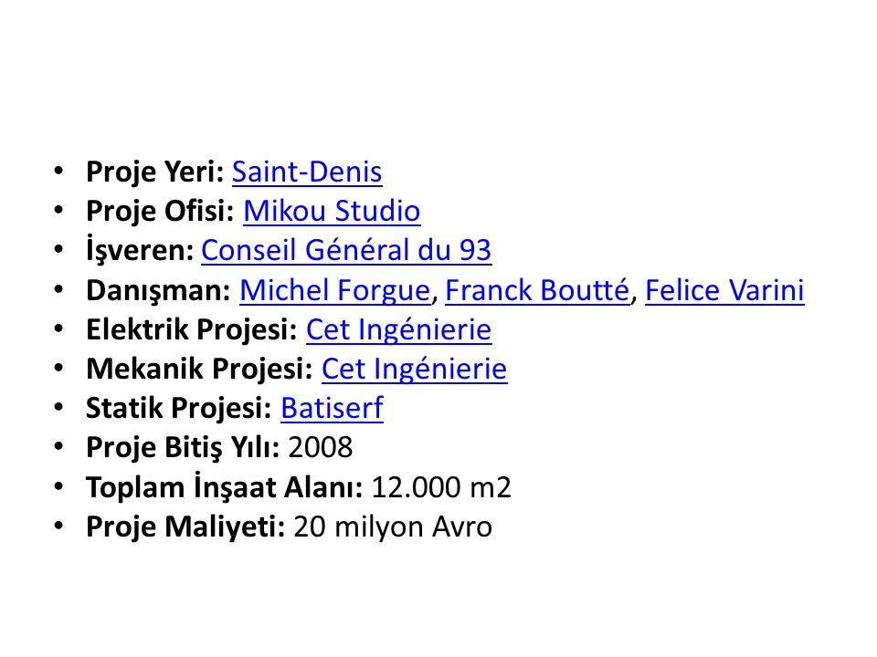 Proje Yeri: Saint-Denis