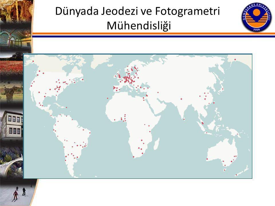 Dünyada Jeodezi ve Fotogrametri Mühendisliği