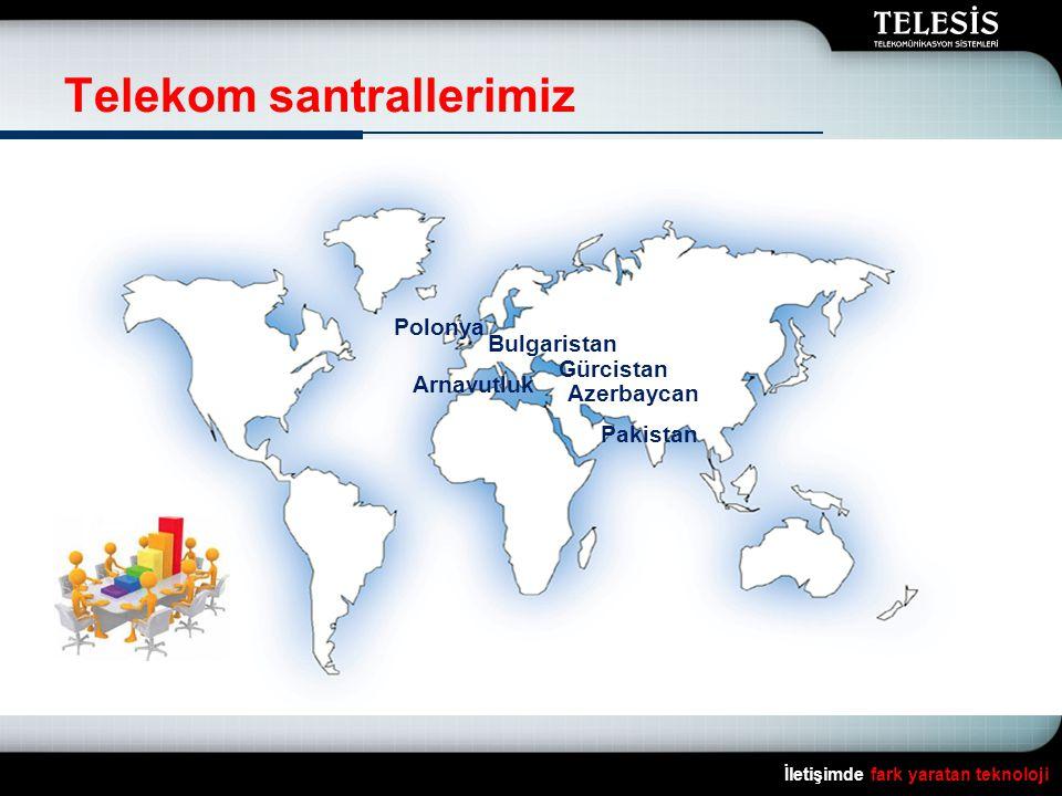 Telekom santrallerimiz