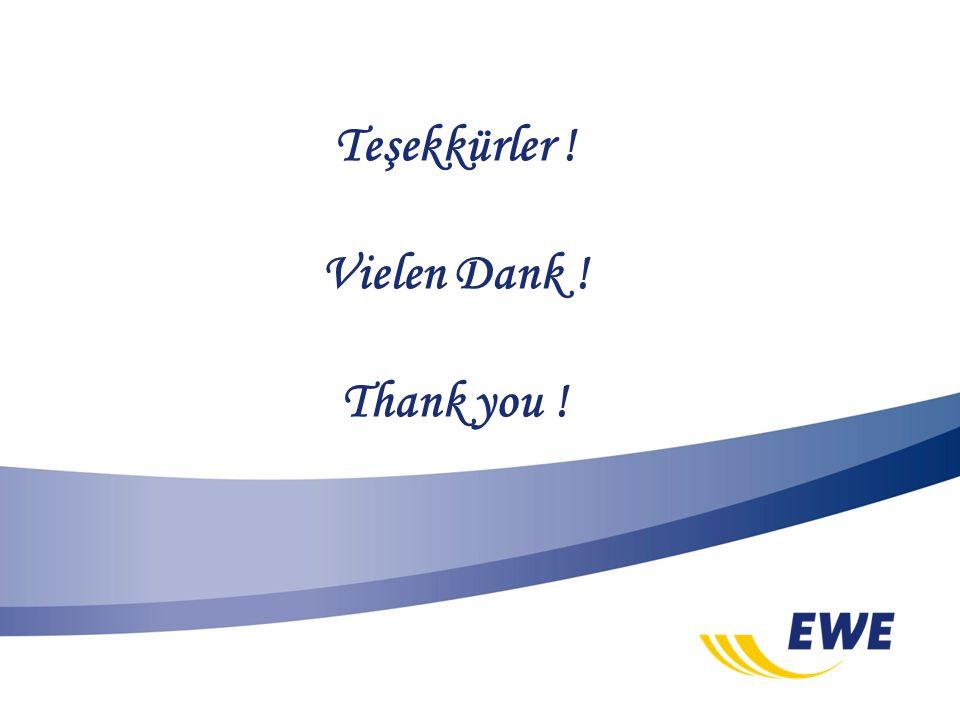 Teşekkürler ! Vielen Dank ! Thank you !