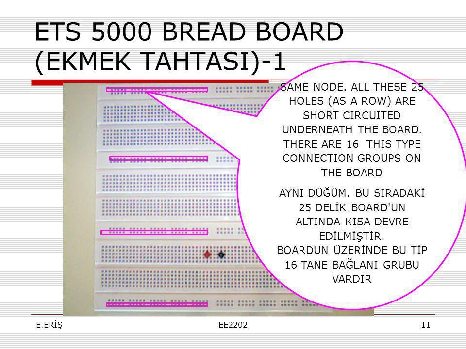 ETS 5000 BREAD BOARD (EKMEK TAHTASI)-1