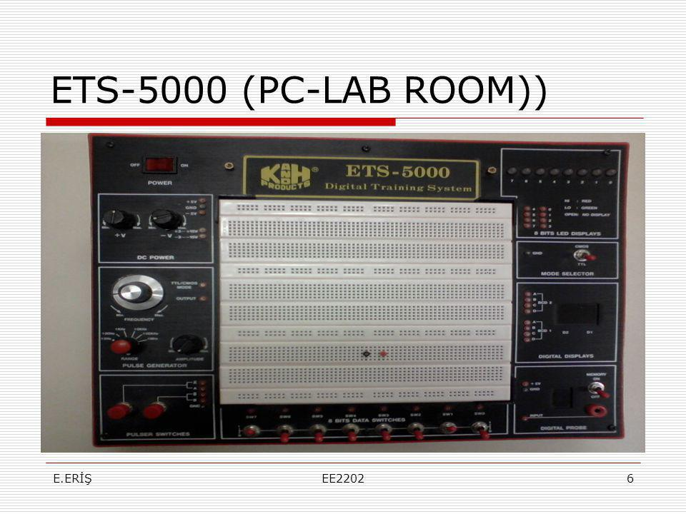 ETS-5000 (PC-LAB ROOM)) E.ERİŞ EE2202