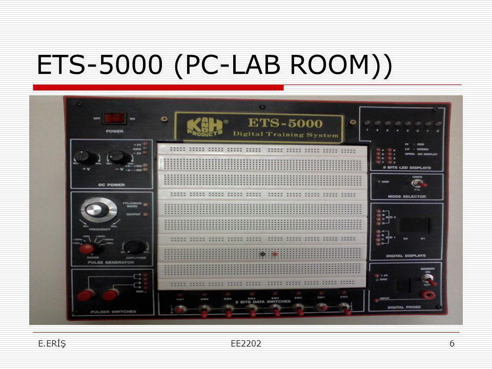 ETS-5000 (PC-LAB ROOM)) E.ERİŞ EE2202
