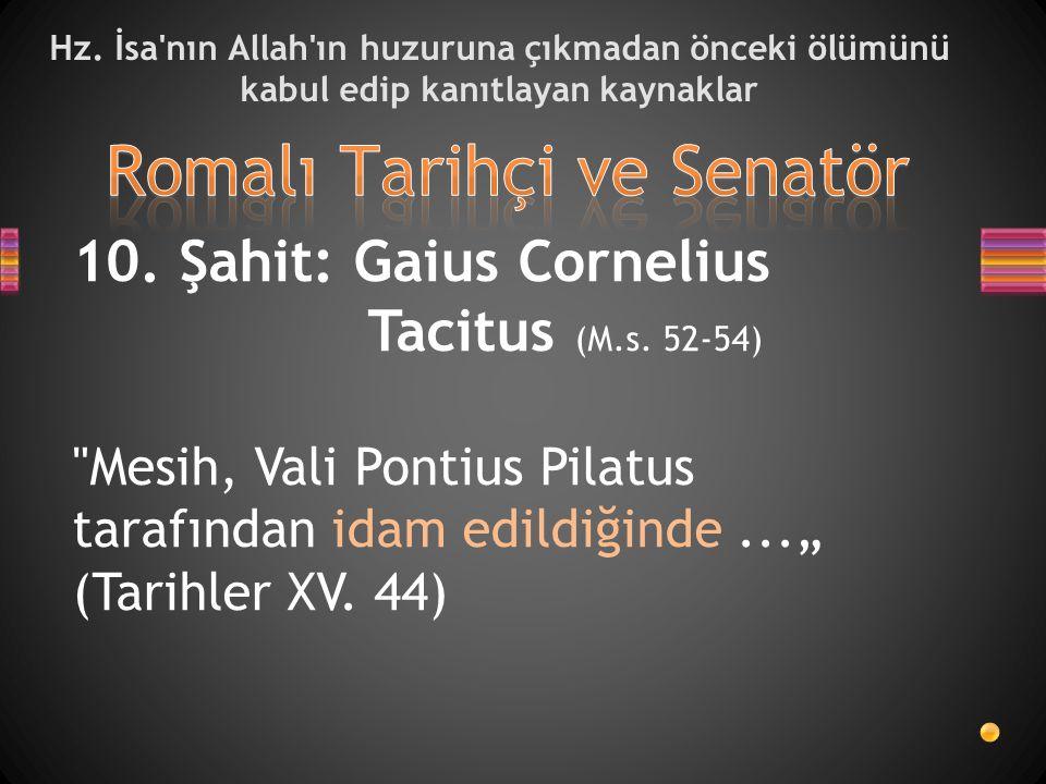 Romalı Tarihçi ve Senatör