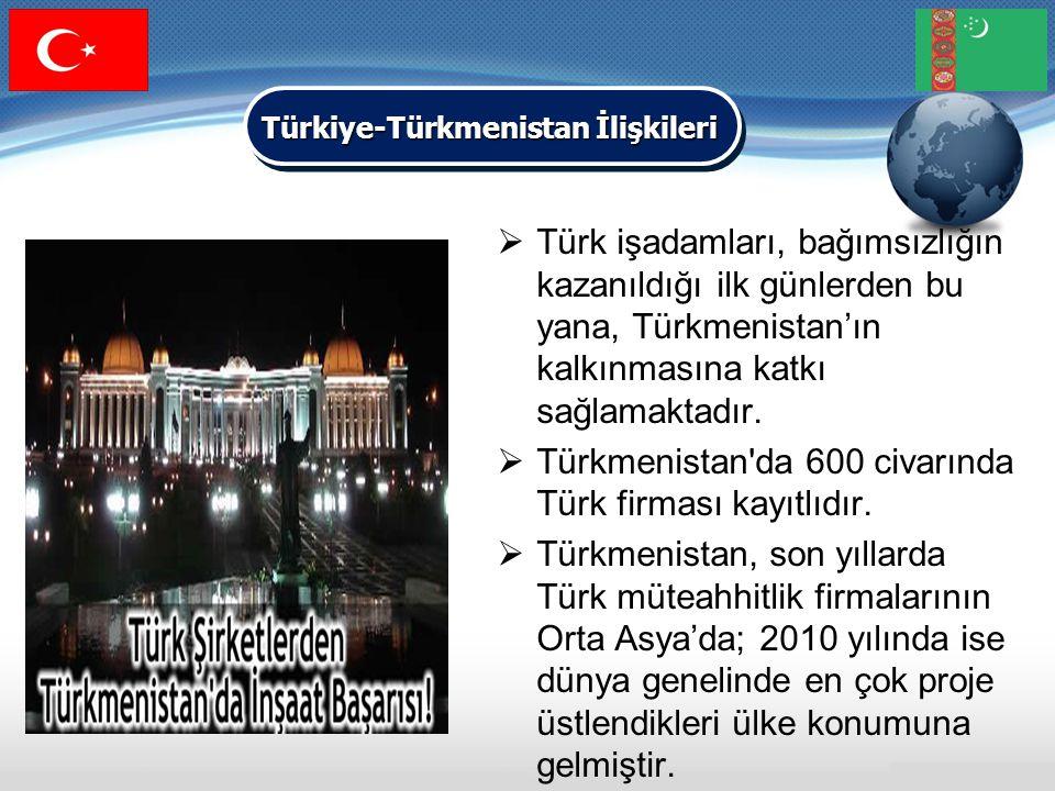 Türkiye-Türkmenistan İlişkileri