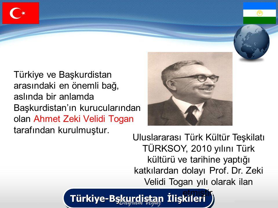 Türkiye-Bşkurdistan İlişkileri