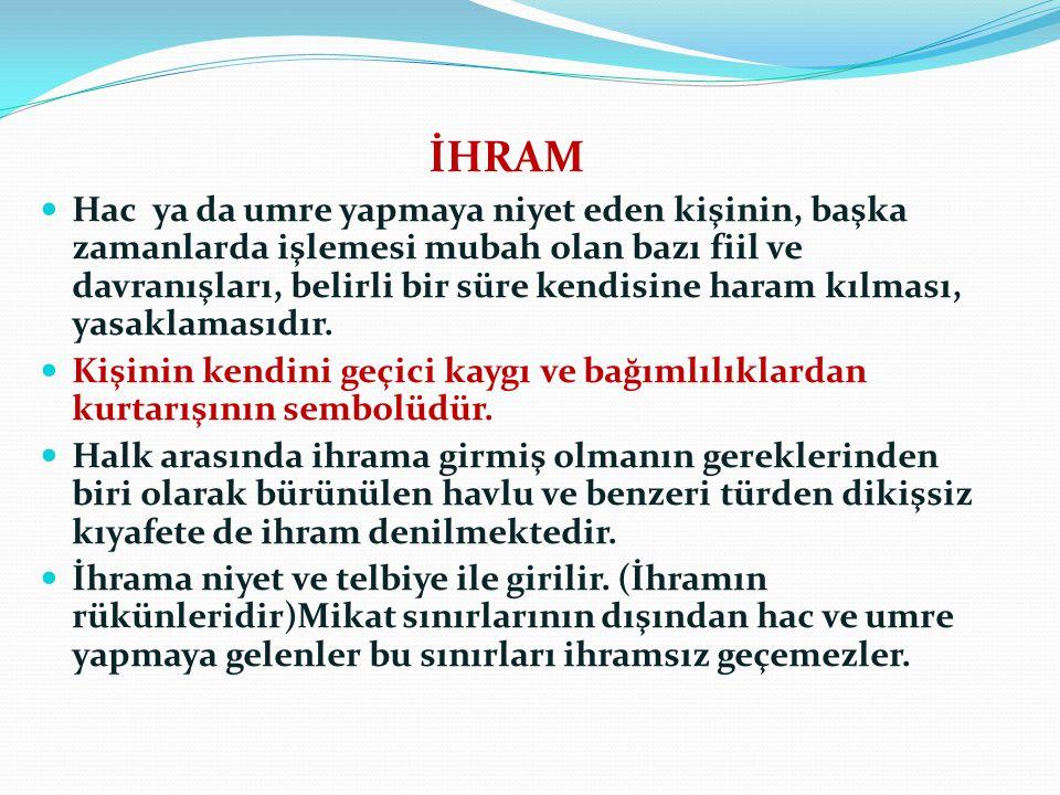 İHRAM