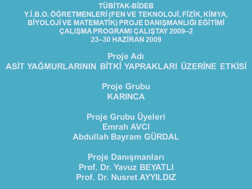Prof. Dr. Nusret AYYILDIZ
