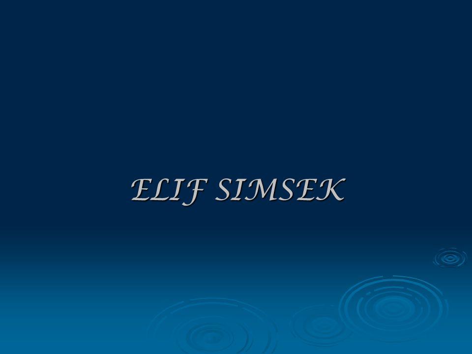 ELIF SIMSEK