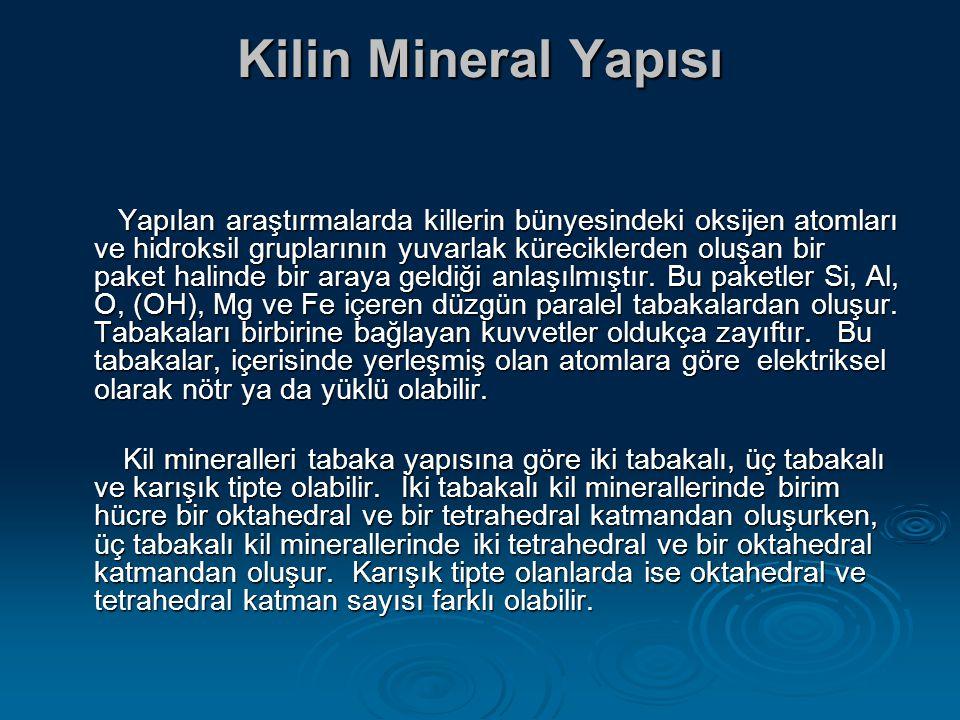 Kilin Mineral Yapısı