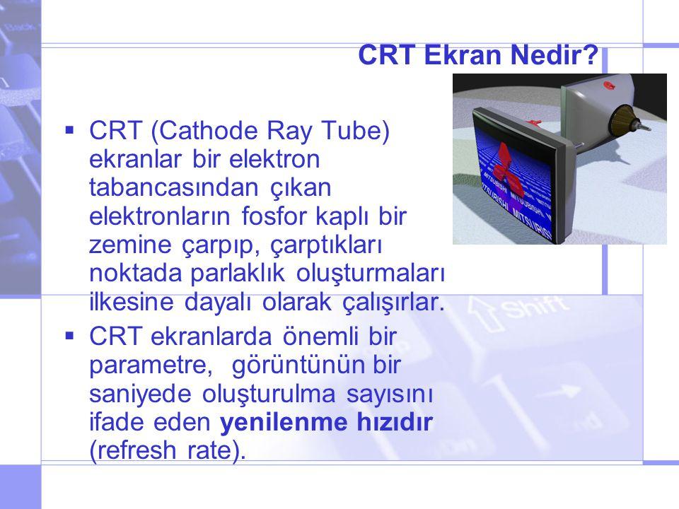 CRT Ekran Nedir