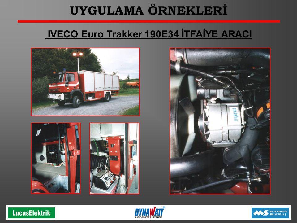 IVECO Euro Trakker 190E34 İTFAİYE ARACI